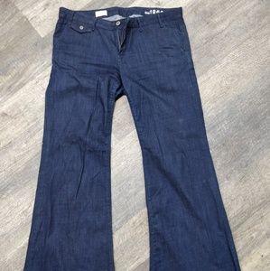 Trouser Wide Leg Jeans 14 long